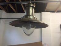 Storm lamp light fitting