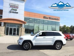 2016 Jeep Grand Cherokee Limited  ACCIDENT FREE, LEATHER, BLUETO