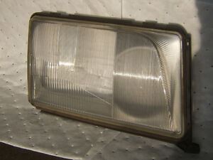 Mercedes W124 E-Class Headlight Lens RIGHT Side Glass 1993-1995