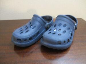 Toddler Size 8/9 Mock Crocs Kitchener / Waterloo Kitchener Area image 1