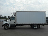 18' reefer on 2005 International 4300