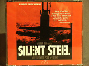 PC Game: SILENT STEEL by Tsunami games,1995.
