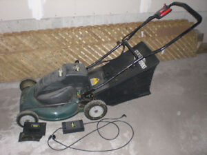 For Sale: Yardworks cordless lawn mower