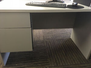 Computer Desk with Executive Office Chair