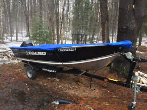 2012 14' Legend Boat & Trailer with 20HP Merc