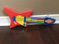 Little tikes guitar and piano