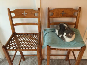 Two Designer chairs (Breakfast Bar Chairs)