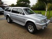 2005 05 Reg Mitsubishi L200 2.5TD Warrior Manual