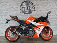 NEW KTM RC390 lightweight supersport