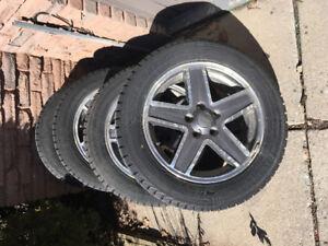 Jeep Patriot Rims an Winter Tires
