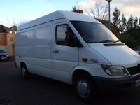 Removals/Man with van available 7 days a week