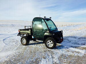 2014 John Deere XUV 825i Olive and Black Gator