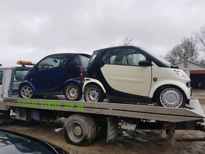 2006 2005 smart cars for parts