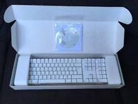 Apple wireless keyboard.