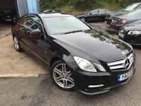 2012 Mercedes-Benz E Class 2.1 E250 CDI BlueEFFICIENCY Sport 7G-Tronic 2dr