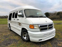 FRESH IMPORT 2001 DODGE RAM CHEVROLET ASTRO EXPRESS DAY VAN PETROL V8 AUTO WHITE