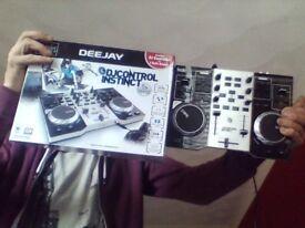 mixer, dj controller