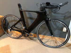 Specialized Shiv carbon TT/Tri frame-fork with components