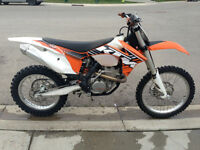 2012 KTM 350 XC-F EFI 4-STROKE CROSS COUNTRY  (15 HOURS ONLY!!!)