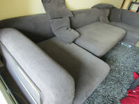 SOFA, Sectional (IKEA Tylosand, Natural Brown)