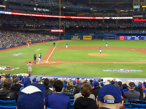 BLUE JAYS TICKETS (SECTION 118) - GREAT SEATS!!!