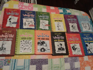 Diary of Wimpy Kid Books (Book 1-12)