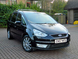 2008 57 Ford Galaxy 2.0 TDCi Ghia 5dr WITH TOP SPEC+LEATHER+SATNAV