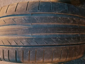 2 PNEUS ETE 225 40 19 CONTINENTAL 2 SUMMER TIRES