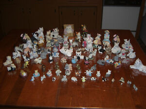 Collection chats miniatures