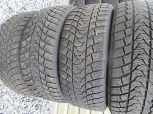 4 p195/55r16 severe snow rated winter tires