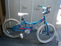 20'' Girls Raleigh Bicycle