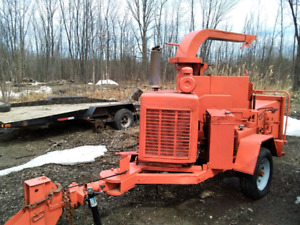 "12"" Brush Bandit wood chipper"