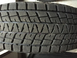 New Goodyear Blizzaks on rims for sale excellent condition