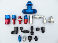 AN FITTINGS AN HOSE BRAKE FITTINGS ADAPTORS AND EVERYTHING ELSE
