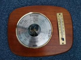 Lovely wood barometer