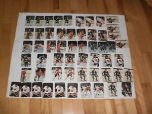 1977-78 OPC GLOSSY  (56) cards nm