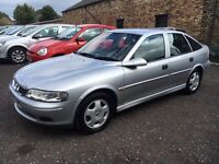 2002 Vauxhall Vectra 1.8 Club, Silver, 5 Doors, Only 57k, 12 MOT, Service History, 2 Keys,