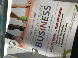 Contemporary business Canadian edition by Boone, Kurtz etc