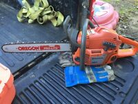 "Husqvarna 351 chainsaw 18""bar"