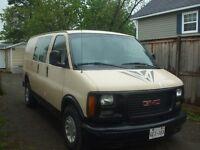 1999 GMC Savana, Cargo Van,