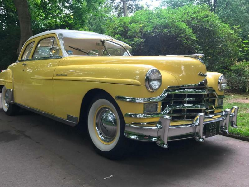 1949 Chrysler New Yorker Club Coupe 4900cc,Family Buisness Est 1996