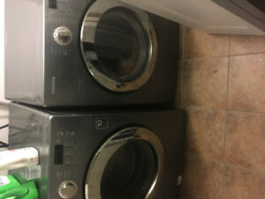 Samsung front end washer dryer
