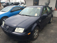 lease to own in 2 years for $105 plus tax p/m 2000 vw Jetta