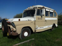 1958 gmc camper bus super shorty motor home rv very rare
