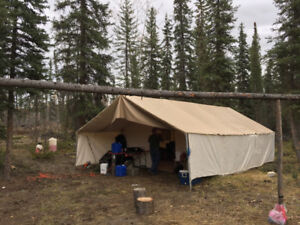 Used Northwest Wall Tent For Sale