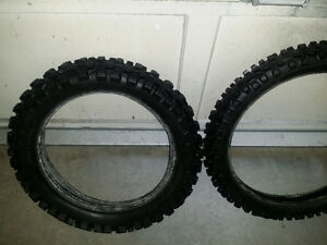 Dirt bike tires - $40 for the pair