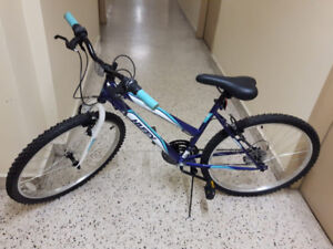 """Barely used 24"""" Bike - Almost New"""