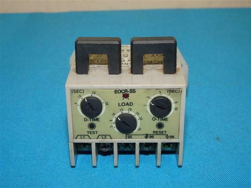 Samwha EOCR-SS SS-30 Electronic Overload Relay