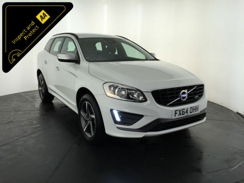 2014 64 VOLVO XC60 R-DESIGN D4 AUTO DIESEL ESTATE 1 OWNER VOLVO HISTORY FINANCE