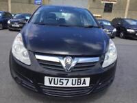 2007 Vauxhall Corsa 1.2 i 16v Club Hatchback 5dr Petrol Manual (139 g/km,